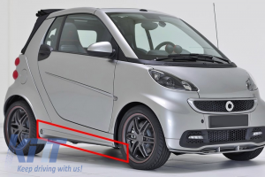 KITT brings you the new Side Skirts Add-On Smart ForTwo 453 (2014-Up) Apron B Design
