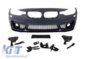KITT brings you the new Front Bumper BMW 3er F30 (2011-up) M3 Design Without Fog Lamps