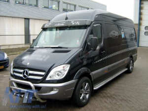 KITT brings you the new Front Grill MERCEDES SPRINTER (906) NCV3 Non LCI (2006-2013) Chrome Edition