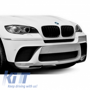 KITT brings you the new Front Bumper BMW E71 X6 (2008-2012) and BMW X6 E71 (2008-2014) X6M M Performance Design