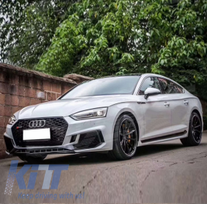 KITT brings you the new Side Skirts Audi A5 F5 Sportback (2017-) Quattro RS Design