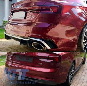 KITT brings you the new Rear Bumper Audi A5 F5 (2017-) Quattro RS5 Design
