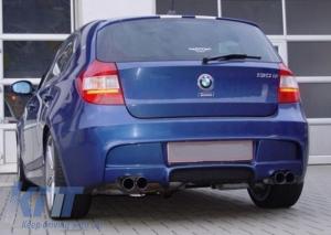 KITT brings you the new Rear Bumper BMW Series 1 E81 E87 Hatchback (2004-2011) M-Technik Design Without PDC