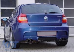 KITT brings you the new Rear Bumper BMW Series 1 E87 E81 Hatchback (2004-2011) M-Technik Design PDC