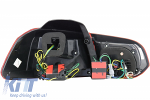 KITT brings you the new Taillights FULL LED Volkswagen Golf 6 VI (2008-up) R20 Design Dynamic Sequential Turning Light Cherry Red