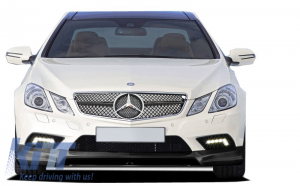KITT brings you the new Front Grille Mercedes Benz E-Class Coupe C207 W207 A207 2009-2012 Coupe/Cabrio SL-Look Black