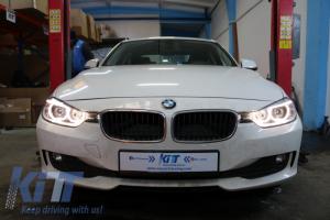 KITT brings you the new BMW 3 Series 3er F30 (2011-up) Bi-Xenon Angel Eyes Headlights