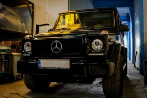 KITT brings you the new Front Bumper Mercedes G65 AMG Design Benz G-Class W463 (1989-2017) with Grille G63 GT-R Panamericana Design