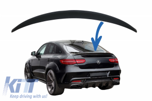 KITT brings you the new Rear Trunk Spoiler Suitable for Mercedes GLE Coupe C292 (2015-2018) AMG Design Fiber Glass