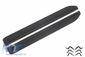 KITT brings you the new Running Boards Side Steps suitable for Toyota Land Cruiser FJ150 (2014-Up)