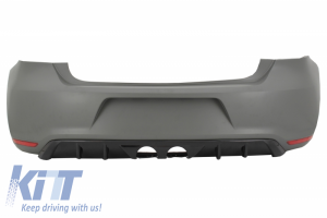 KITT brings you the new Rear Bumper Suitable for VW Polo 6R (2009-2018) R400 Design Without PDC