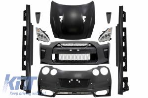 KITT brings you the new Complete Body Kit suitable for Nissan GT-R (2008-2017) Facelift 2017 Design
