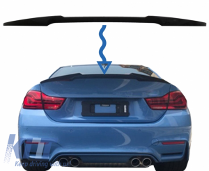KITT brings you the new Trunk Spoiler suitable for BMW 4 Series Gran Coupe F36 (2013-up) M4 CSL Design Piano Black
