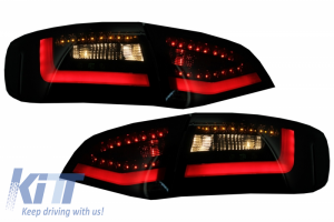 KITT brings you the new LED Taillights suitable for AUDI A4 B8 Avant (2008-2011) Black/Smoke With Dynamic Indicator