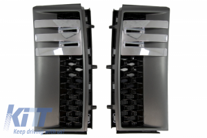 KITT brings you the new Side Vents Grilles for Range ROVER Vogue III L322 2002-2012 Black Edition New Autobiography Design