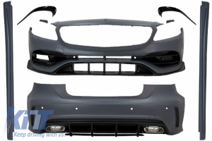 KITT brings you the new Complete Body Kit suitable for MERCEDES A-Class W176 (2012-2018) A45 A-Design