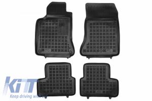KITT brings you the new Floor mat black suitable for Mercedes A-Class W177 B-Class W247 (2018-Up) CLA-Class II C118 (2019-Up)