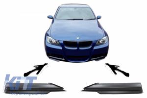 KITT brings you the new Front Bumper Splitters Spoiler suitable for BMW 3 Series E90 E91 M-Tech (2005-2008)