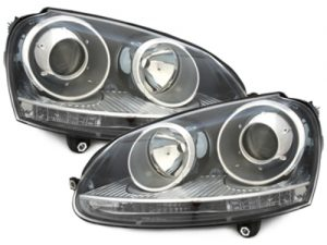 KITT brings you the new headlights VW Golf V 03-07_GTI Look_black