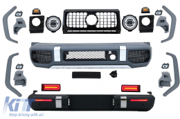 2018 G63 A-Design Conversion Body Kit suitable for MERCEDES G-Class W463 (2008-2017)