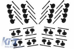32 pieces Plastic Auto Clips Wheel Arches Fender Flares - CLIPSX5