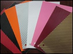 3d Carbon fiber film textured - car vinyl 30 meters - CFV127