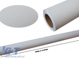3d Carbon fiber film textured - car vinyl 30 meters - Fol3DW