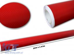 3d Carbon fiber film textured - car vinyl 30 meters - CF307