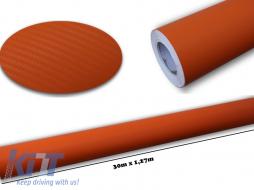 3d Carbon fiber film textured - car vinyl 30 meters - CF328