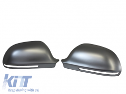 3M Adhesive Mirror caps covers suitable for AUDI A3 8P, A4 B8, A6 4F Facelift, A5 S5 RS5, A8 - MCAUA6FM3A