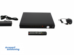 4 Channel DVR HD 1080P Analog Black Longse - 8TB - AHD-T2004U