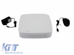 4 Channel DVR HD 1080P Analog White Longse - HDD 4TB  - AHD-T2004PD