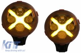 6 Inch Auxiliary Light Off Road Spotlight suitable for Jeep Wrangler JK TJ LJ (1997-up) - HLU6INCHAUX