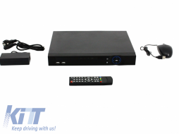 8 Channel DVR HD 1080P Analog White Longse - AHD-T2108A