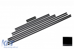 Add On Door Moldings Strips Mercedes G-class W463 (1989-up) AMG BLACK - DMMBW463AMGB