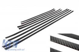 Add On Door Moldings Strips suitable for MERCEDES G-class W463 (1989-up) Carbon - DMMBW463AMGC