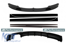 Add On Kit Extension Conversion to M-Performance Design suitable for BMW 3 Series F30/F31 (2011-) Sedan/Touring - COCBSBMF30MPLO