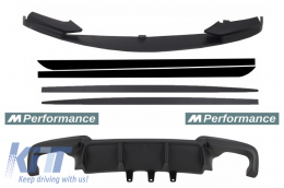 Add On Kit Extension Conversion to M-Performance Design BMW 5 Series F10 F11 Sedan Touring - COCBSBMF10MPDOMB