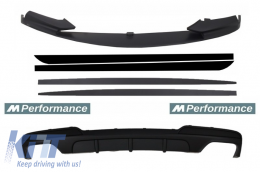 Add On Kit Extension Conversion to M-Performance Design suitable for BMW 5 Series F10 F11 Sedan Touring
