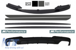 Add On Kit Extension Conversion to M-Performance Design suitable for BMW 5 Series F10 F11 Sedan Touring - COCBSBMF10MPDOTHDG