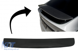 Add-on Trunk Spoiler Cap Wing suitable for Tesla Model X (2015-up) Real Carbon - 7402PB