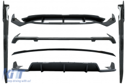 Aero Body Kit suitable for BMW X5 G05 (2018-up) M-Tech Black Knight Design Carbon Fiber - CBBMG05MPAEROCF