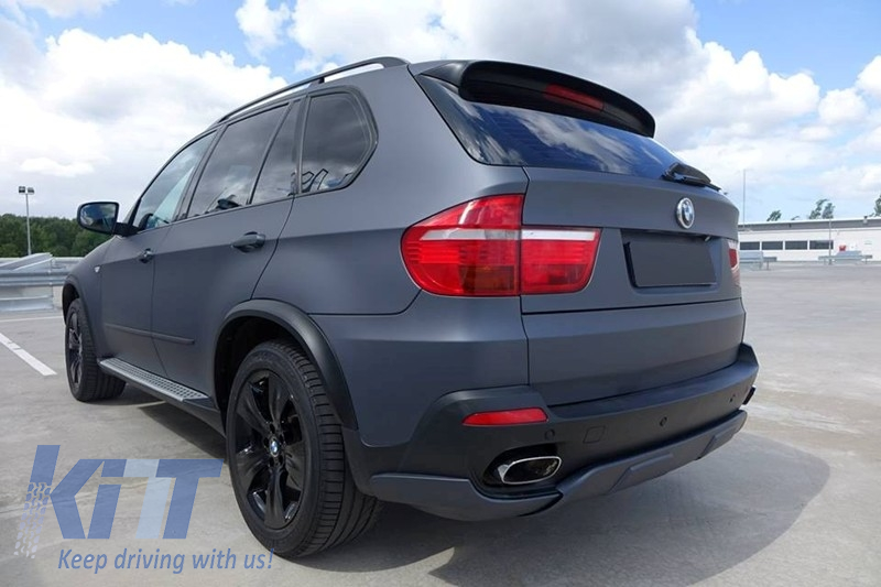 bmw x5 e70 bumper m spoiler aerodynamic package. Black Bedroom Furniture Sets. Home Design Ideas