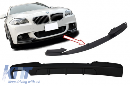Air Diffuser and Front Bumper Spoiler Lip Package suitable for BMW F10 F11 5 Series (2011-2017) M-Performance Design - CORDBMF10MPSOTH