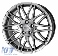 Alloy wheels ANZIO Challenge 16, 7, 5, 115, 38, 70.2, Sterling Silver,  - ANZCHA462