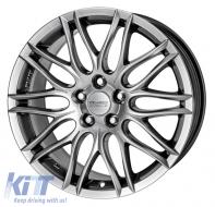 Alloy wheels ANZIO Challenge 18, 8.5, 5, 114.3, 40, 70.1, Sterling Silver,  - ANZCHA73