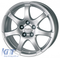 Alloy wheels ANZIO Light 15, 6.5, 5, 112, 45, 70.1, Hyper Silver,  - ANZLIG523