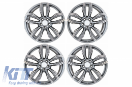 Alloy Wheels BMW Audi R19 Inch 5x112 Mod New GR Coupe Antracit - AW761R19