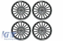 Alloy Wheels KESKIN KT15 8,5JxR19 ET45 5x112 CB66.6 Palladium Painted - AWKT1585195PP
