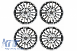 Alloy Wheels KESKIN KT15 SPEED 8xR18 ET45 5x112 CB66.6 Palladium Front Polish - AWKT1580185PFP